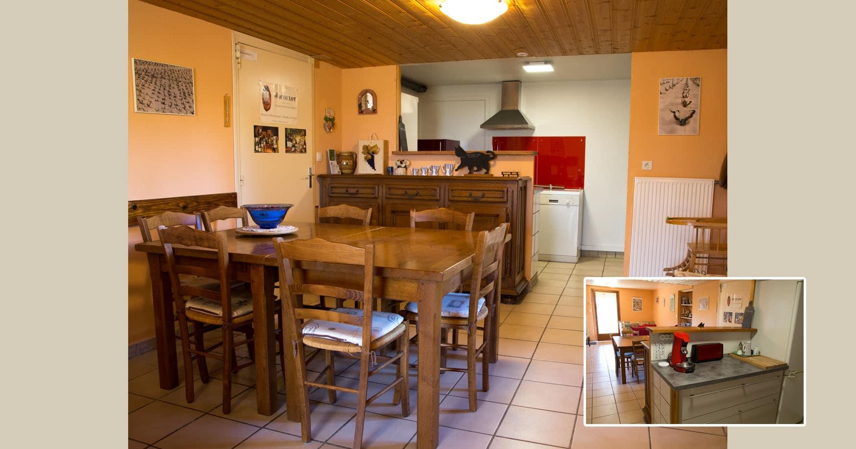 Cuarto - Le Raisin Bleu - casa rural de vacaciones en Beaujolais