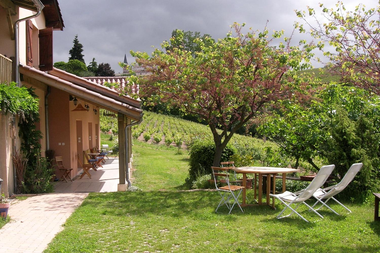 Le Raisin Bleu - casa rural de vacaciones en Beaujolais